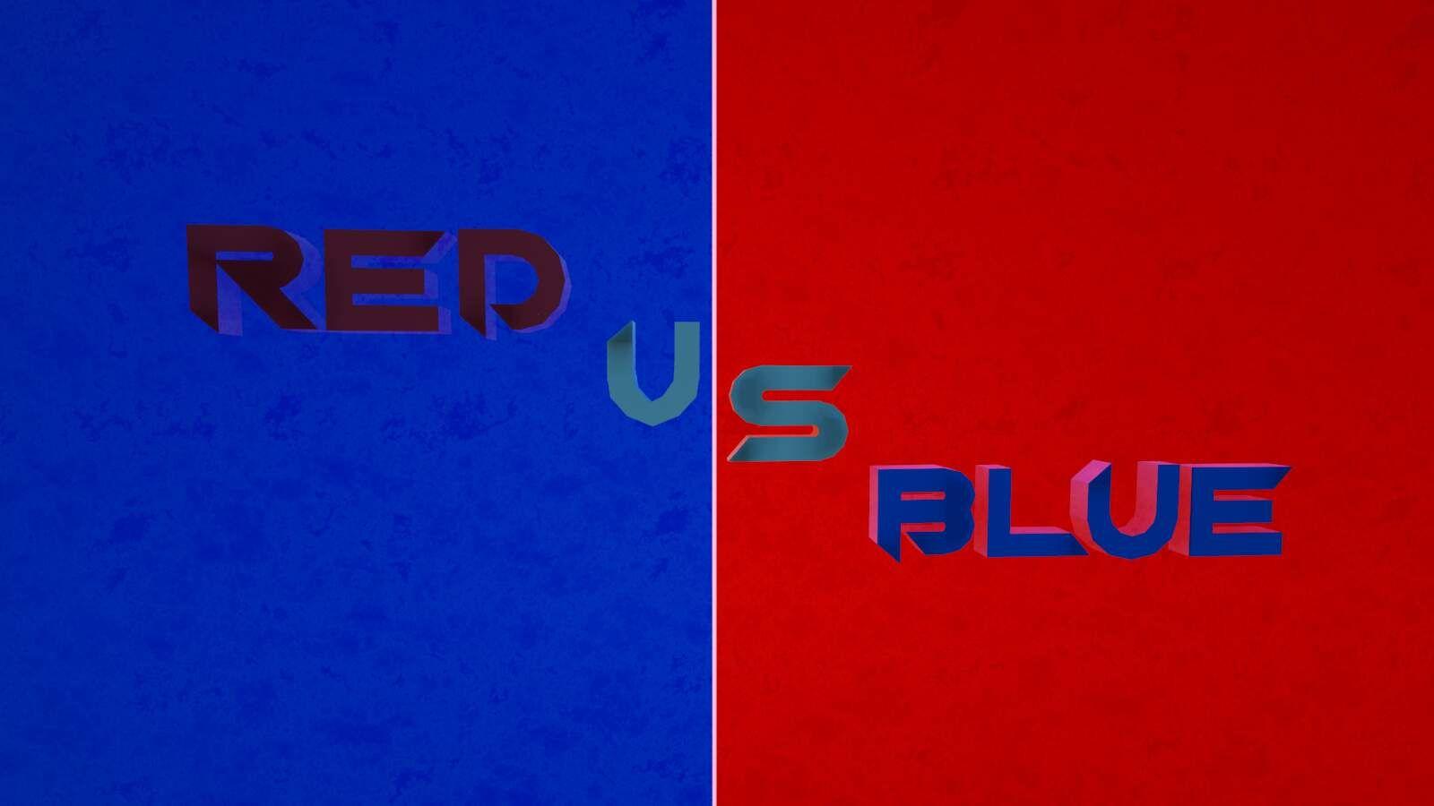 💯 PRO 🔴RED VS BLUE🔵 4708-1225-2166 by Poka