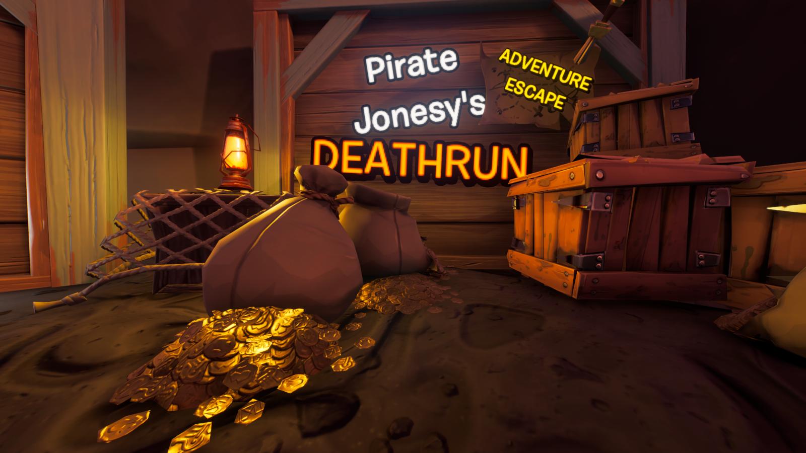 Pirate Jonesys Adventure Escape Deathrun 7452-9966-3879 by FCHQ
