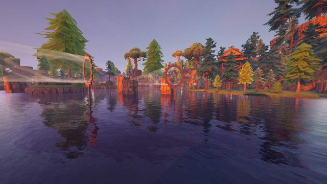 LOOTED LAKE - One Shot Zone Wars Код творческого режима Fortnite