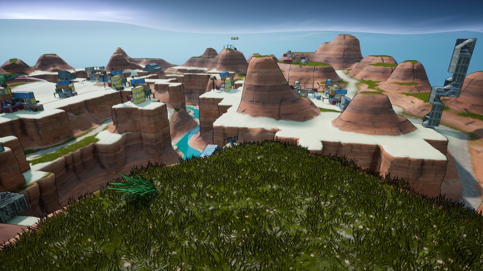Endgame Fortnite Creative Code Desert Endgame Simulation 5350 4949 6539 By Mr Brandonardyt Fortnite