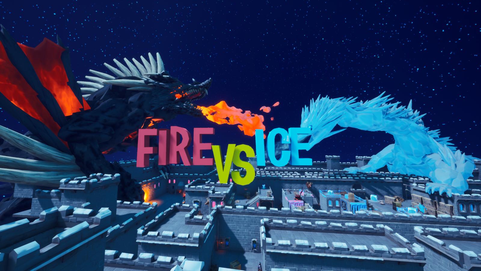 Fire & Ice Gun Fight!! 6178-3809-0428 by ducc