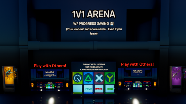 Automated 1v1 Arena!